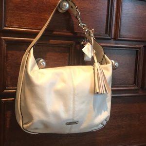 Off white Coach hobo purse